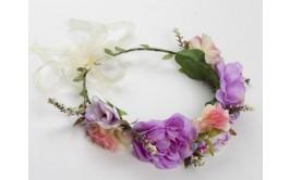 זר פרחים מרהיב ורד מיקס דליה סגול