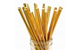 חבילת 25 קשים זהב מטאלי