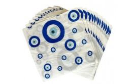 מארז 16 מפיות עין כחולה